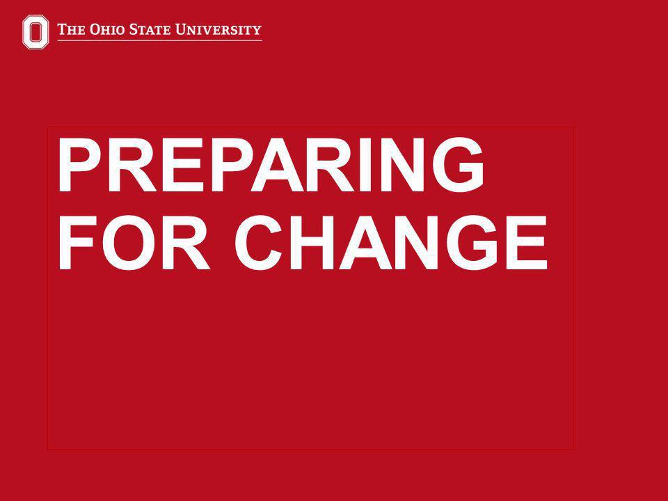 30 PREPARING FOR CHANGE