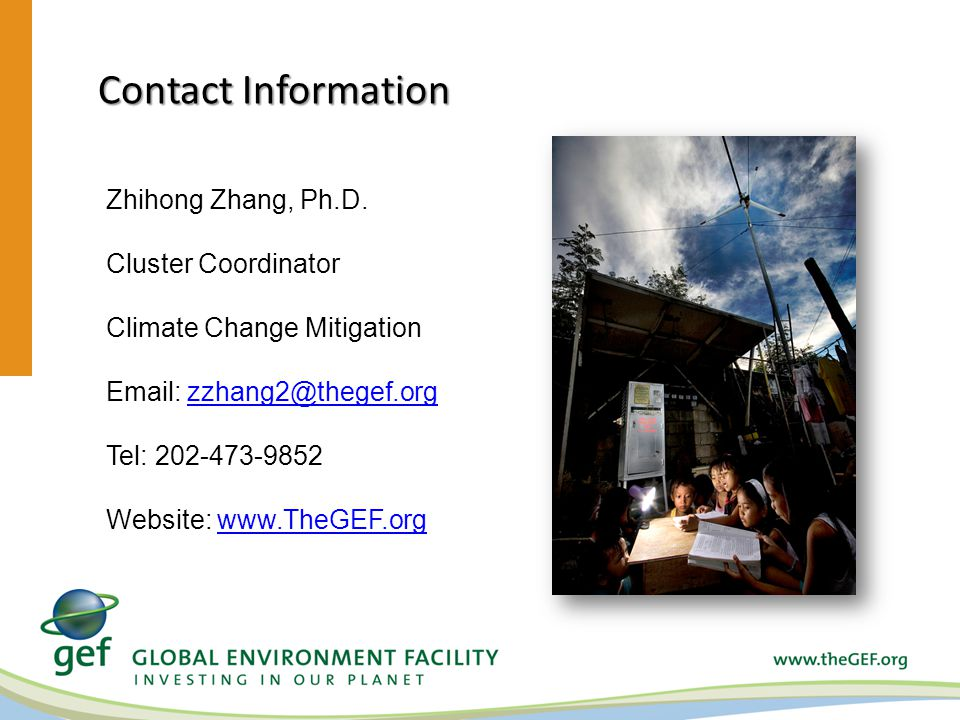 Contact Information Zhihong Zhang, Ph.D.