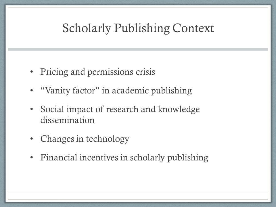 The Access Principle Willinsky, J.(2006).