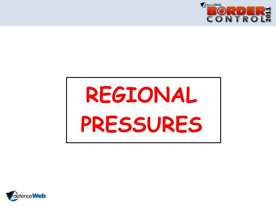 REGIONAL PRESSURES