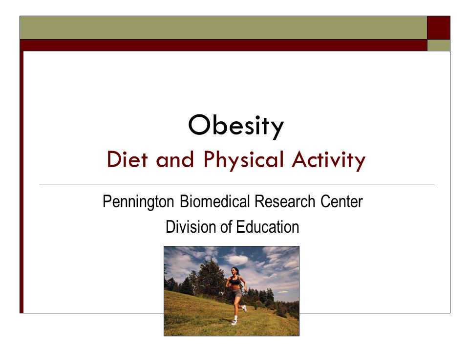 2009 Weight Loss & Maintenance Strategies to Consider Physical Activity & Diet Therapy