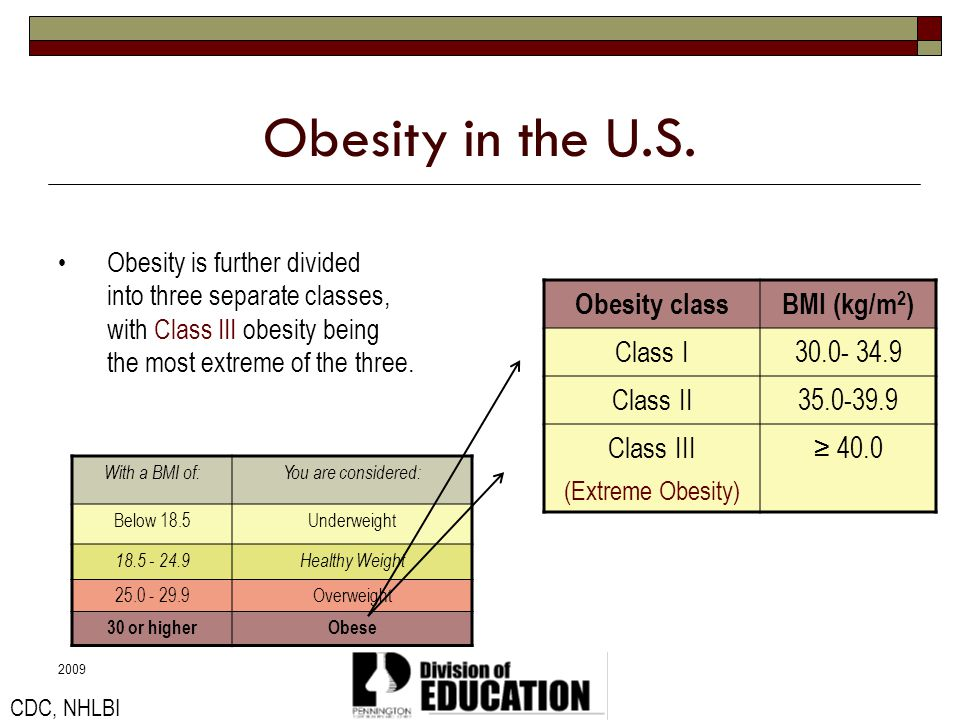 2009 Obesity in the United States In the United States, some minority groups are more affected than others.