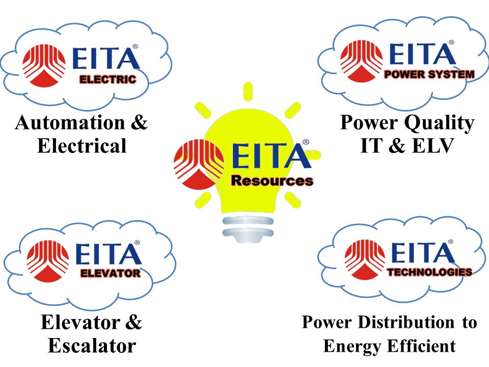 Automation & Electrical Power Quality IT & ELV Elevator & Escalator Power Distribution to Energy Efficient