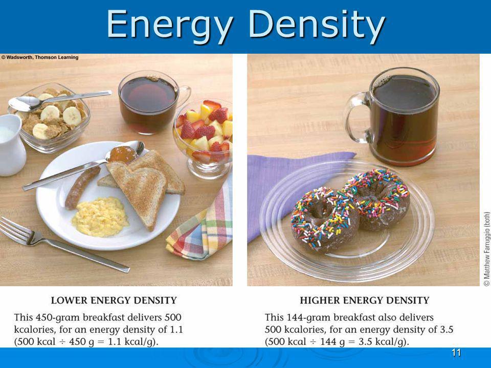 Energy Density 11
