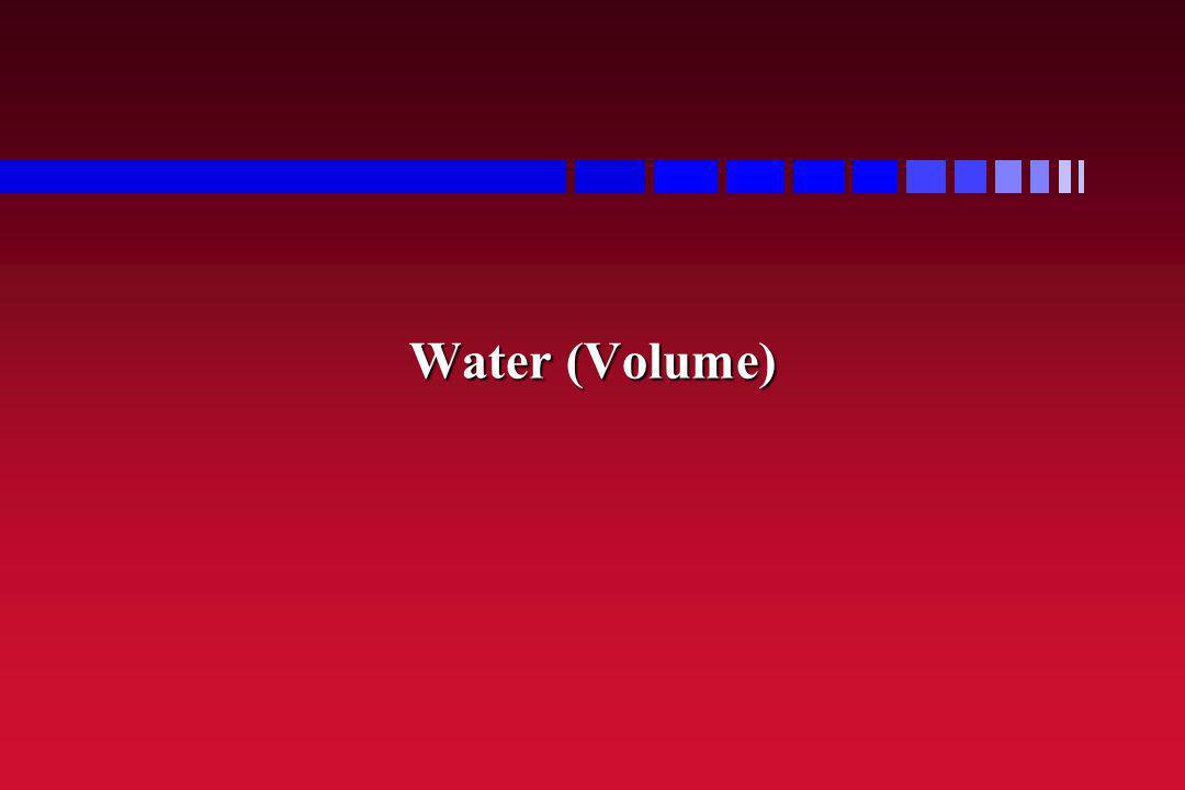 Water (Milk Volume) Water is a nutrient.Water is a nutrient.