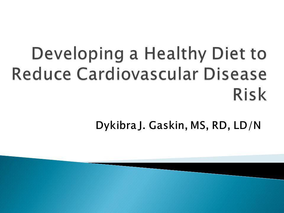 Dykibra J. Gaskin, MS, RD, LD/N