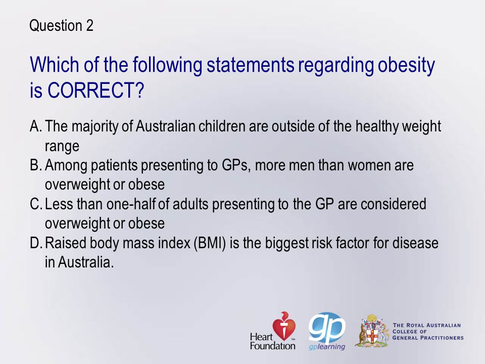 Questions to ask Ask about the patients pros and cons of change What do you see as the benefit of improving your eating habits/losing weight.