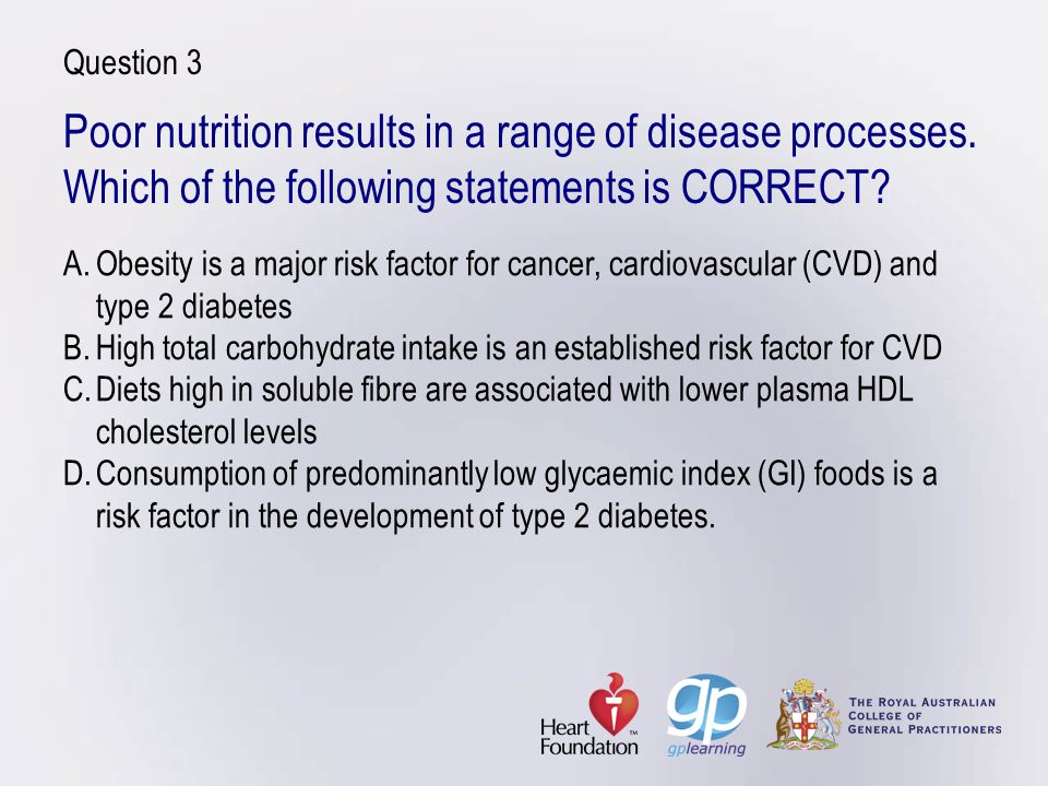 Case study 1: Eating for two During pregnancy, assessment should determine whether the patient:eats 5–6 serves of vegetables per dayeats 4 serves of fruit per dayeats 4–6 serves of cereals per daysupplements folate with 500 µg per day until 3 months and consumes folate rich foodseats 1.5–2 serves iron rich food per dayeats some iodine rich foods such as seafood (or iodine supplement)eats 2–3 serves of calcium rich foodsavoids fish containing high mercury levelsavoids foods at risk of transmitting listerosis and toxoplasmosis.