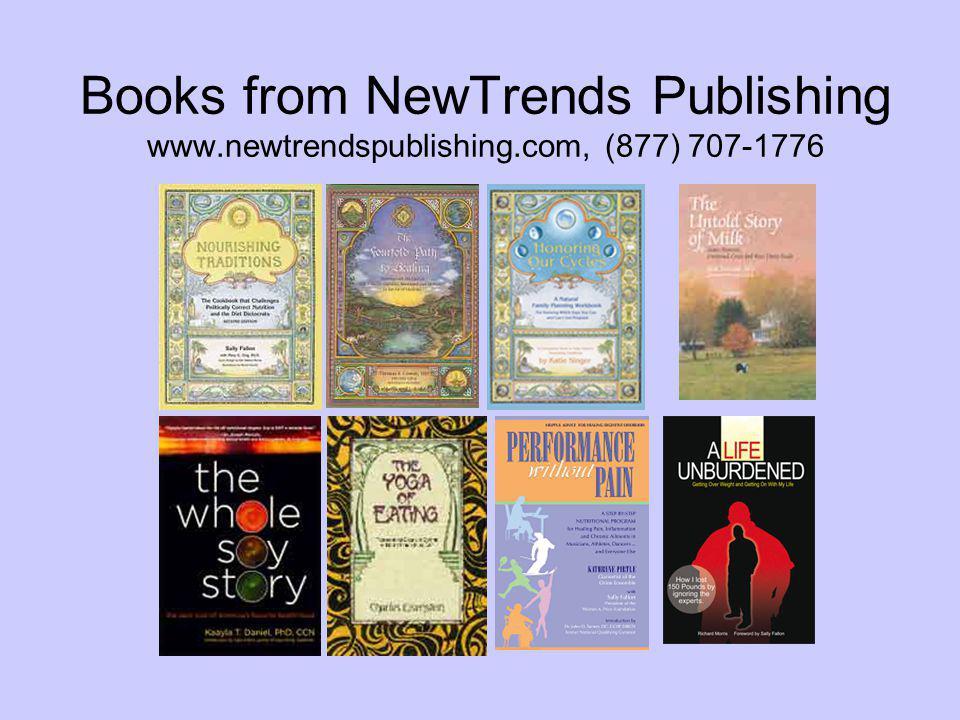 Books from NewTrends Publishing www.newtrendspublishing.com, (877) 707-1776