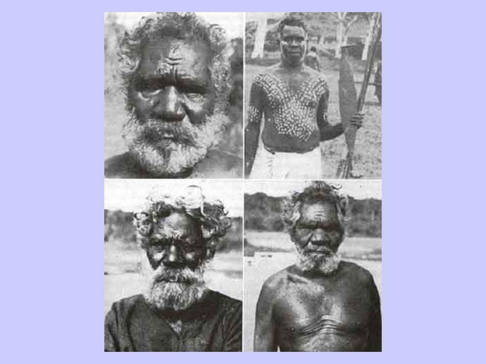 Primitive Aborigine Men