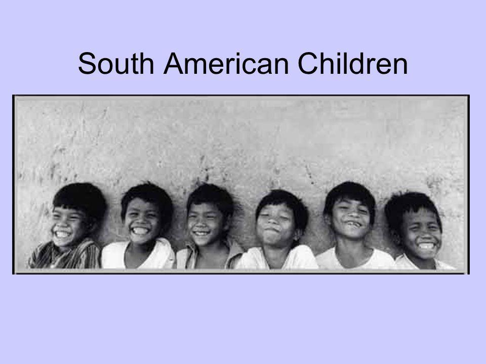 South American Children