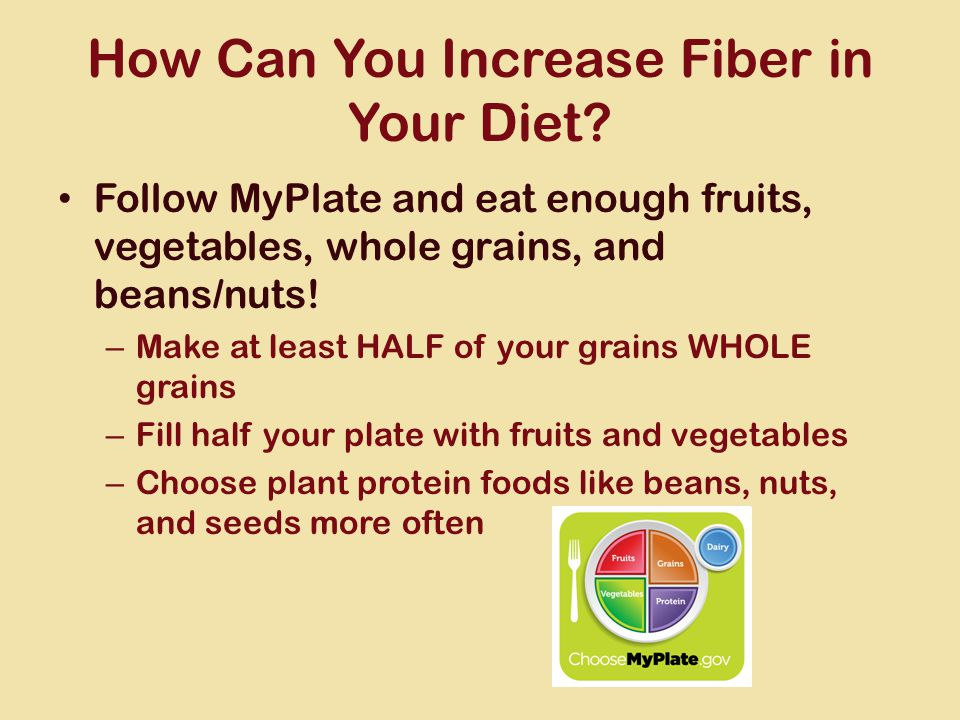 How Can You Increase Fiber in Your Diet.