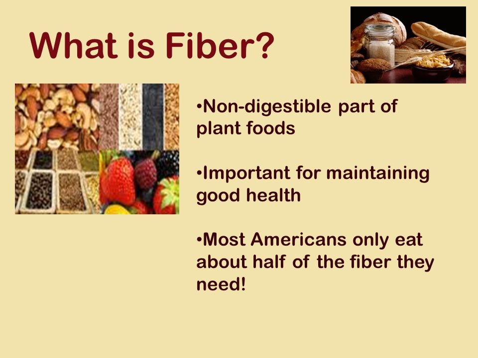 What is Fiber.
