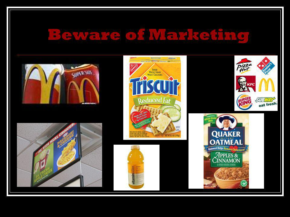 Beware of Marketing