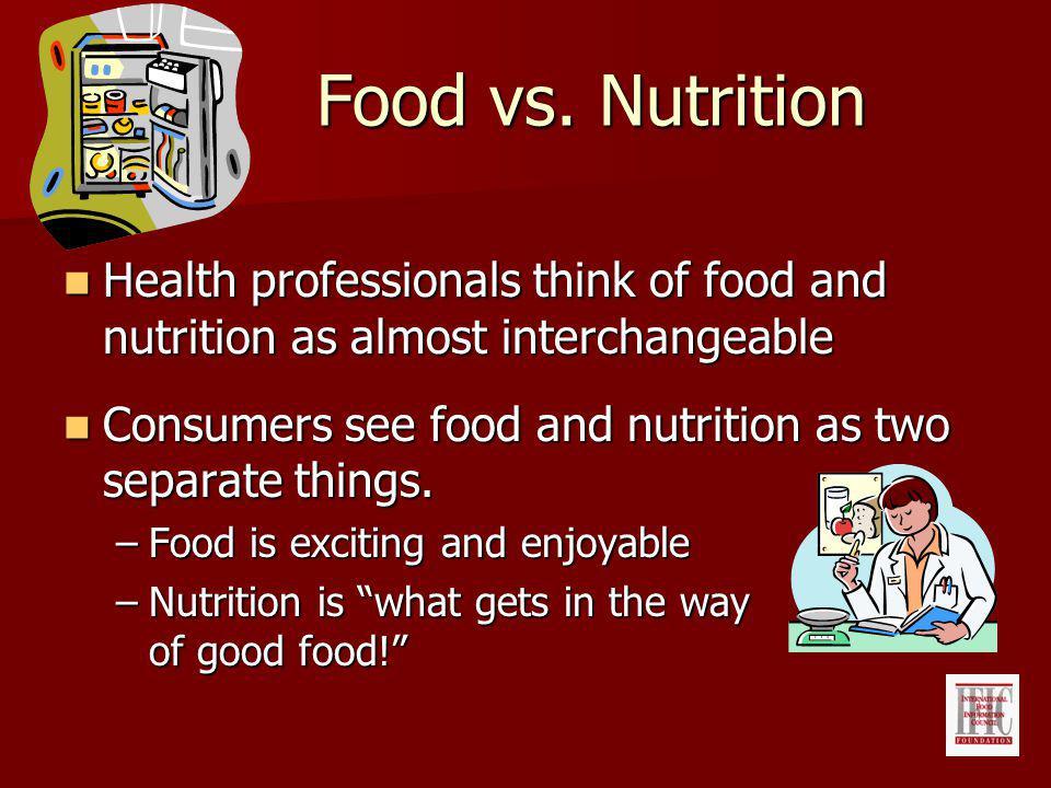 Food vs.