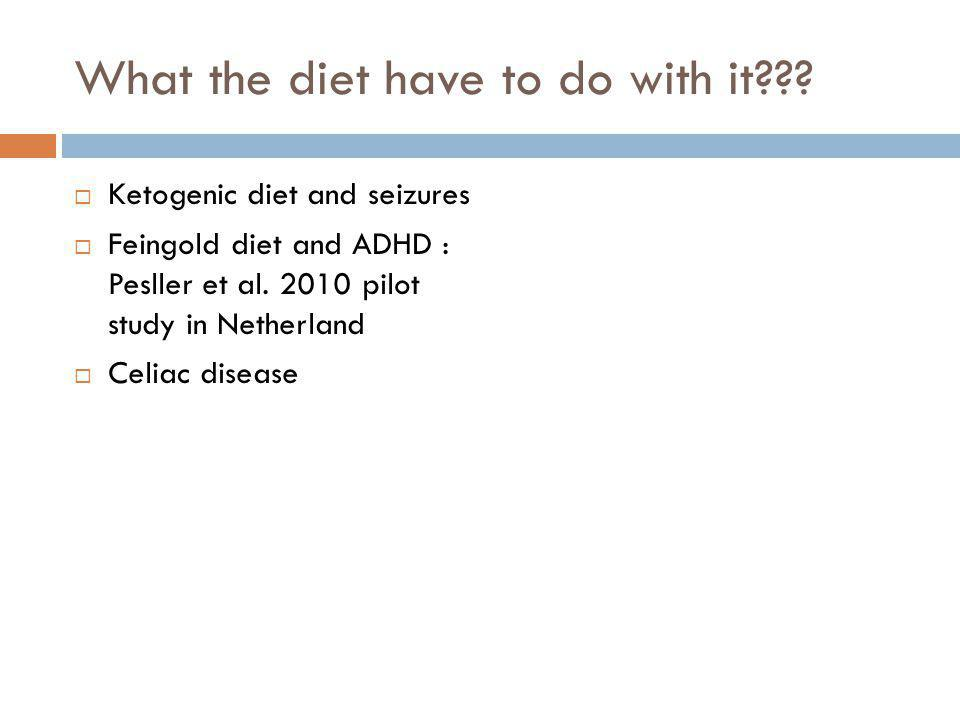 What the diet have to do with it??.