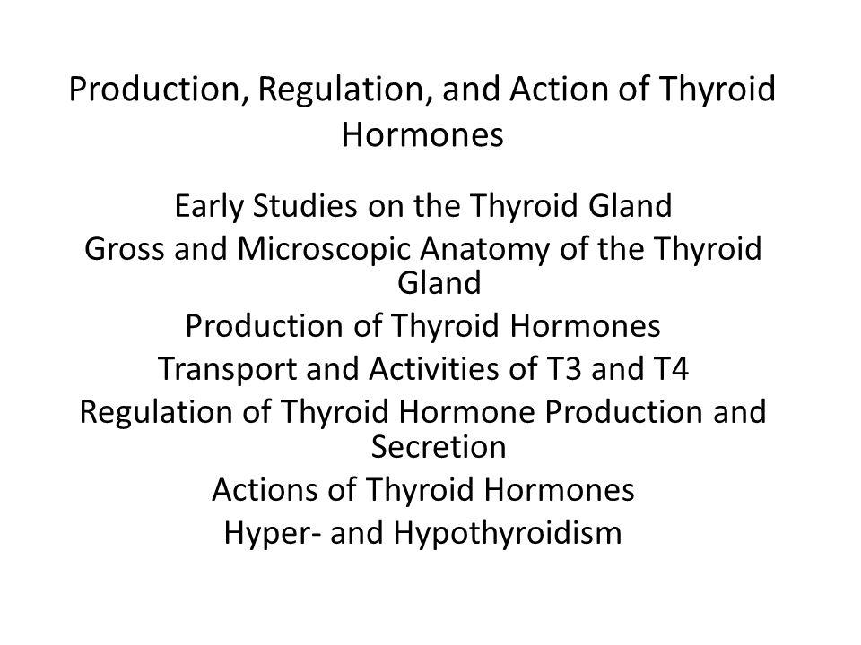 Effects of Thyroid Hormones on Intermediary Metabolism Increase glucose absorption from the GI tract Increase carbohydrate, lipid and protein turnover Down-regulate insulin receptors Increase substrate availability