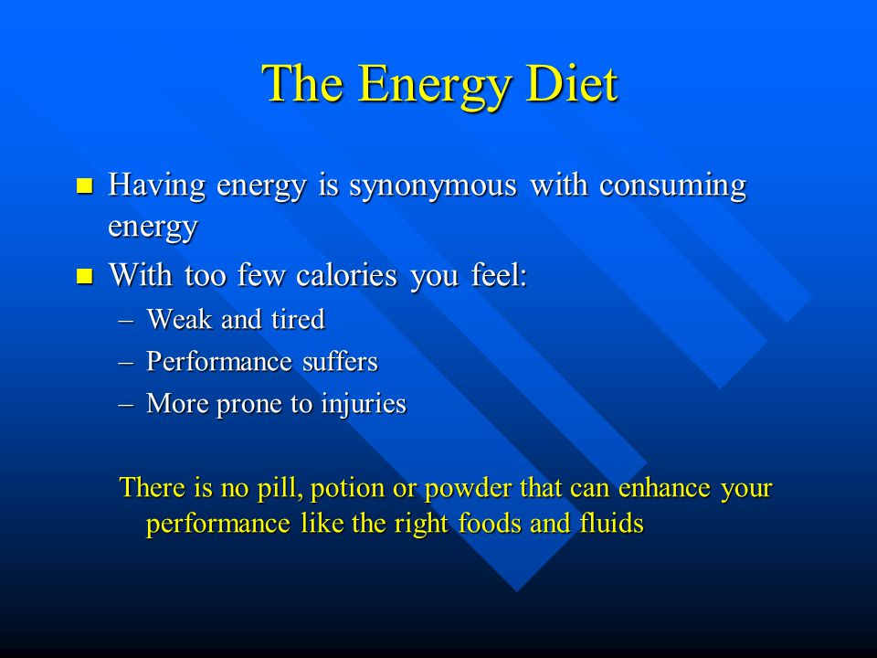 Eating Enough Calories!!! A competitive athlete really needs to Eat, eat, eat!!! Fuel that fire!!! Keep it going!!!