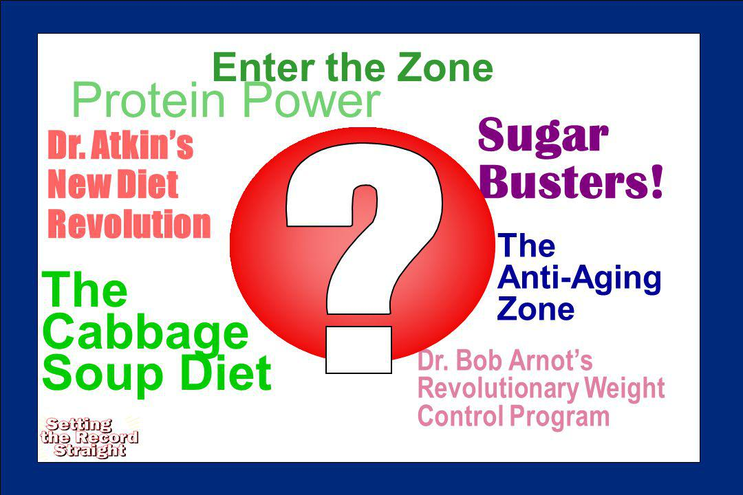 Dr. Bob Arnots Revolutionary Weight Control Program The Cabbage Soup Diet Dr.