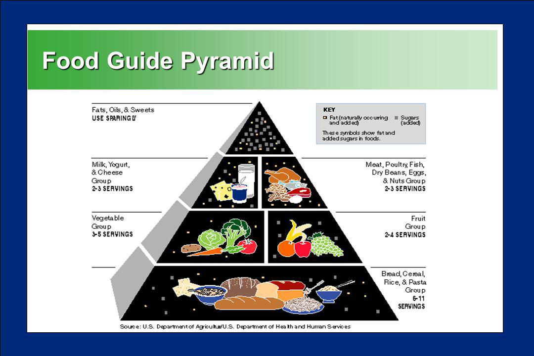 Food Guide Pyramid