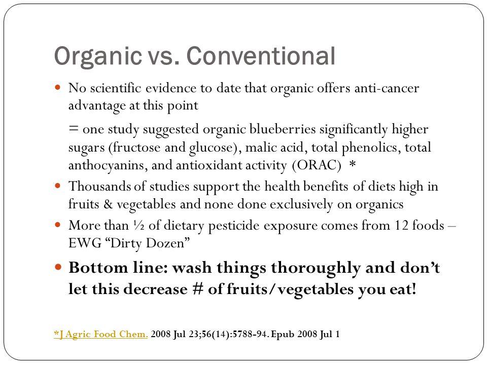 Organic vs.
