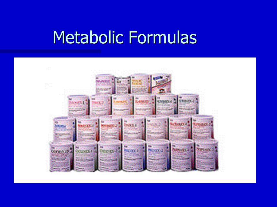Metabolic Formulas