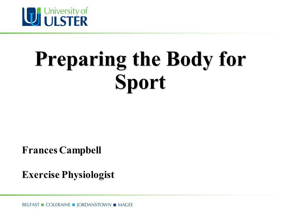 Science and Sport Physiology Body Psychology Mind Biomechanics Internal and External Forces