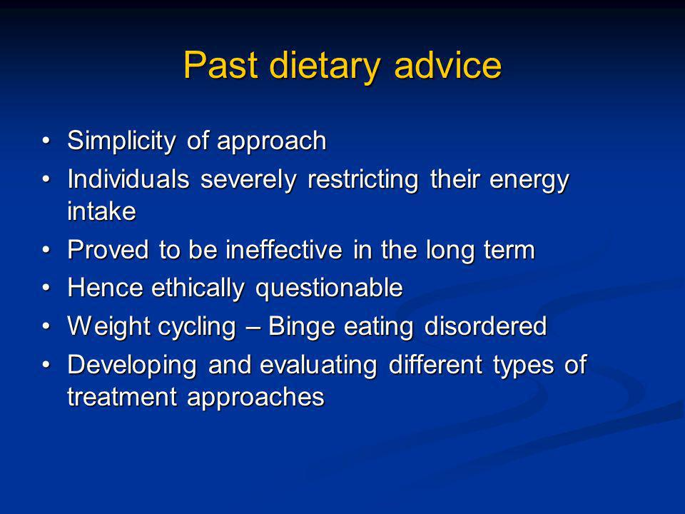 Low Fat Diets Low Carbohydrate diets Do they work .