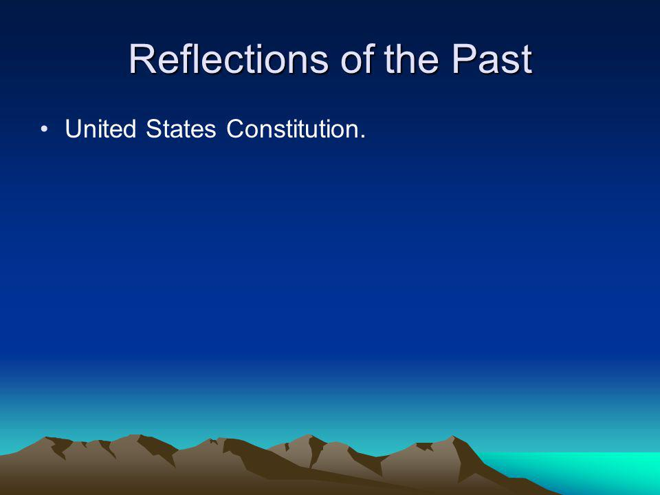 Reflections of the Past Reflections of the Past Why has diversity been a problem in the United States of America? Why has diversity been a problem wit