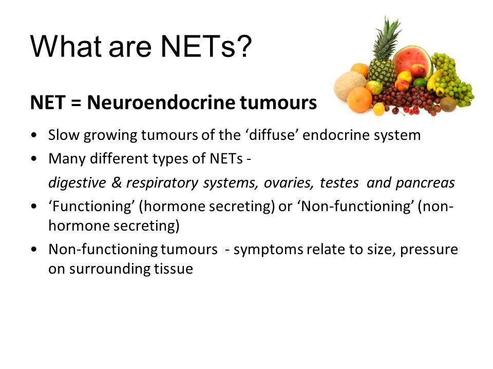 Thank you More information: kscarfe@nsccahs.health.nsw.gov.au Unicorn Foundation (Aus) http://www.unicornfoundation.org.au/ The Carcinoid Cancer Foundation (USA) http://www.carcinoid.org/ UK & Ireland Neuroendocrine Society (UK) http://www.ukinets.org.uk/