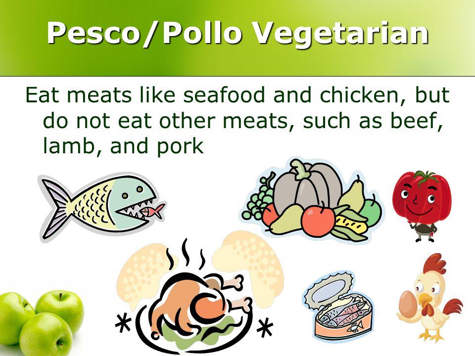 SUMMARY Total Vegetarian or Vegan Lacto Vegetarian Ovo Vegetarian Lacto Ovo Vegetarian Pesco/ Pollo Vegetarian