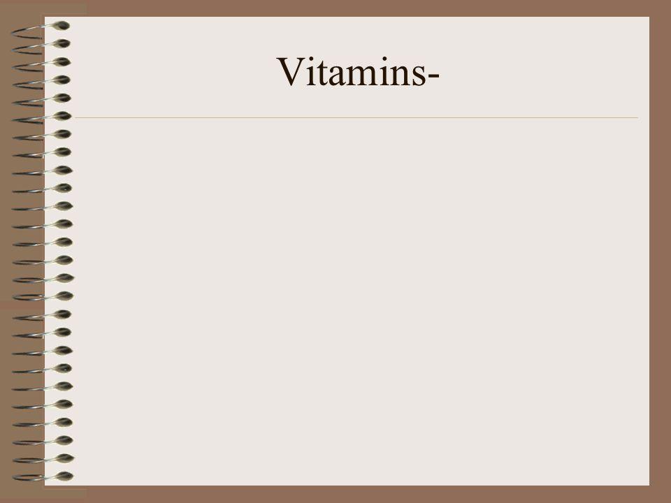 Vitamins-