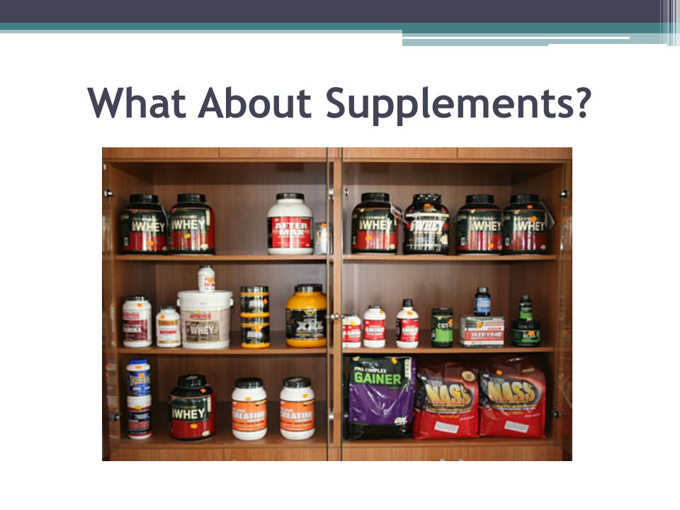 What About Supplements?