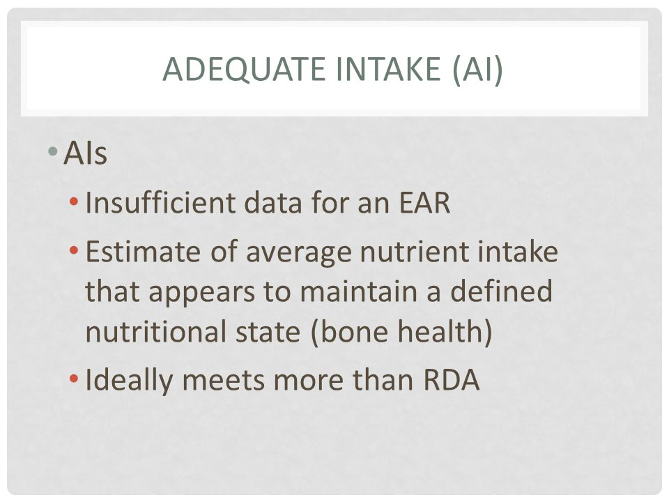 WHATS INCLUDED IN THE NUTRITION FACTS PANEL.12.