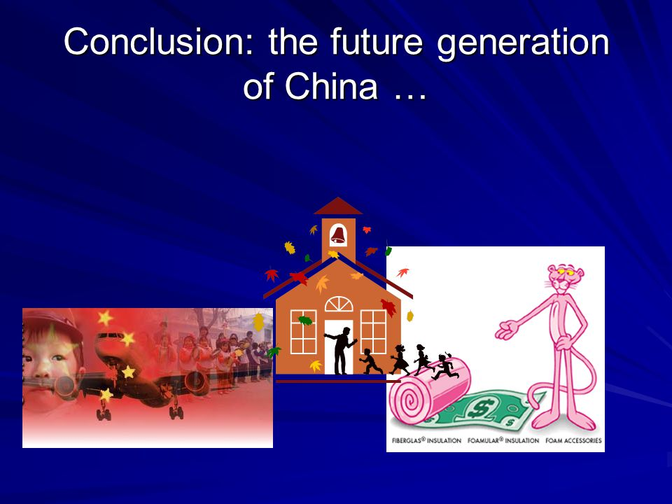 Conclusion China is a large economy with a big momentum.