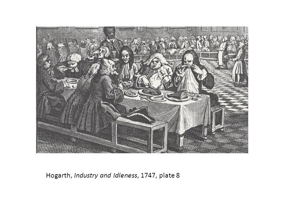 Hogarth, Industry and Idleness, 1747, plate 8