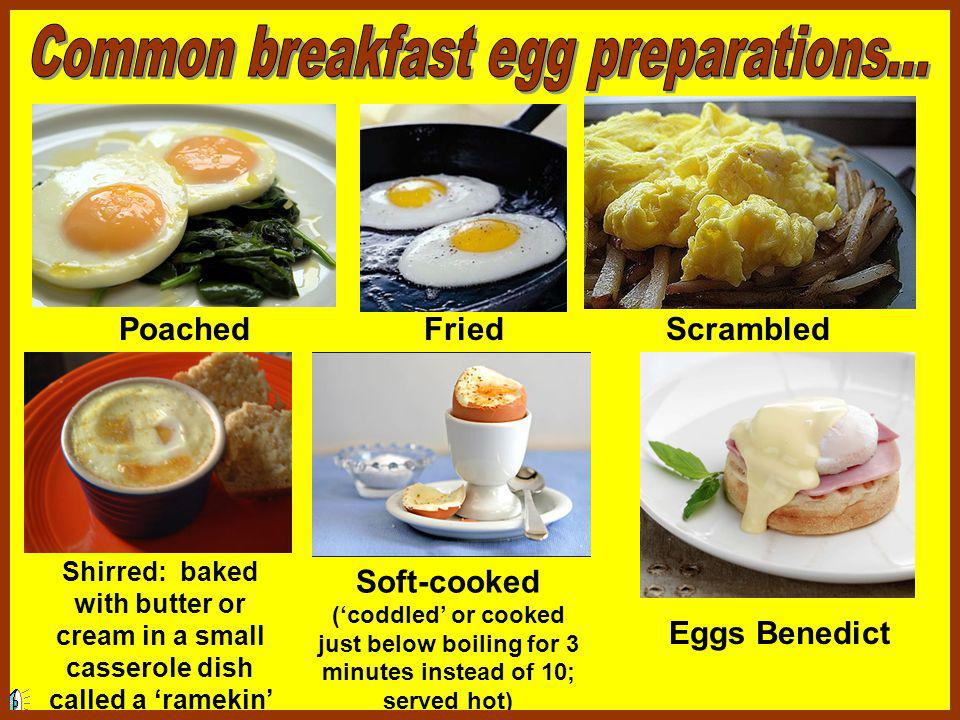 Eggs are one of the most versatile of breakfast foods.