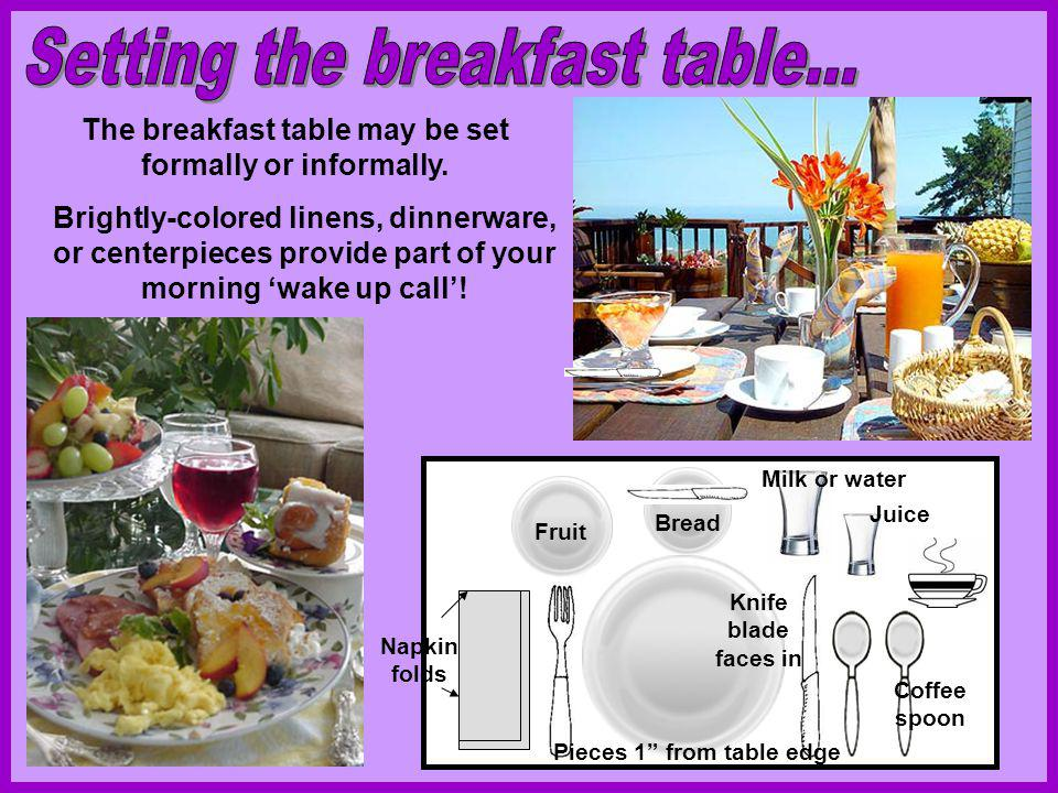 Todays Americans are increasingly aware of the importance of breakfast to start the day, but fast-paced mornings dont allow much time for meals.