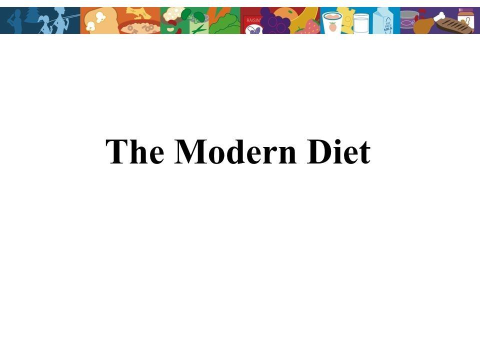 The Modern Diet