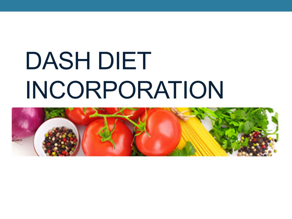 DASH DIET INCORPORATION