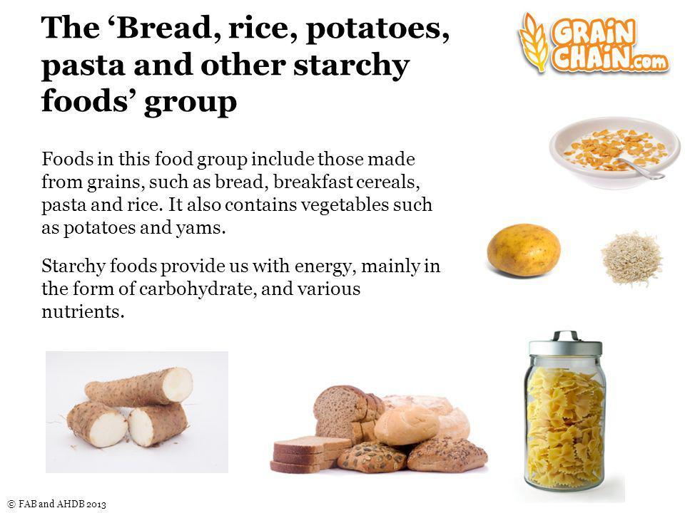 © FAB and AHDB 2013 Why has bread intake decreased.