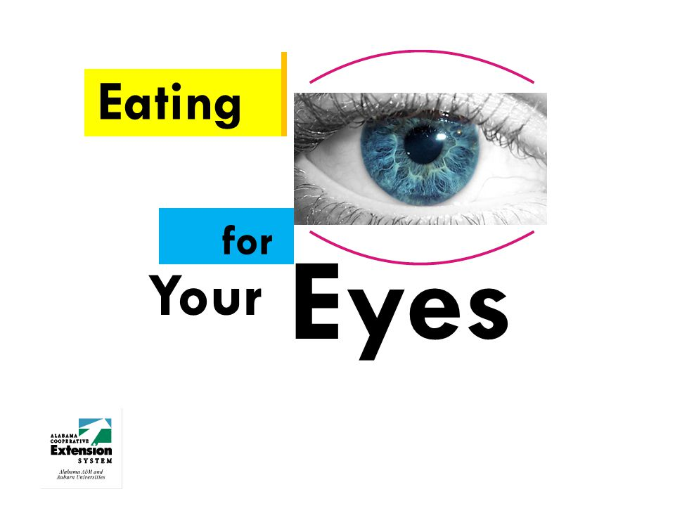 Eating for Your Eyes