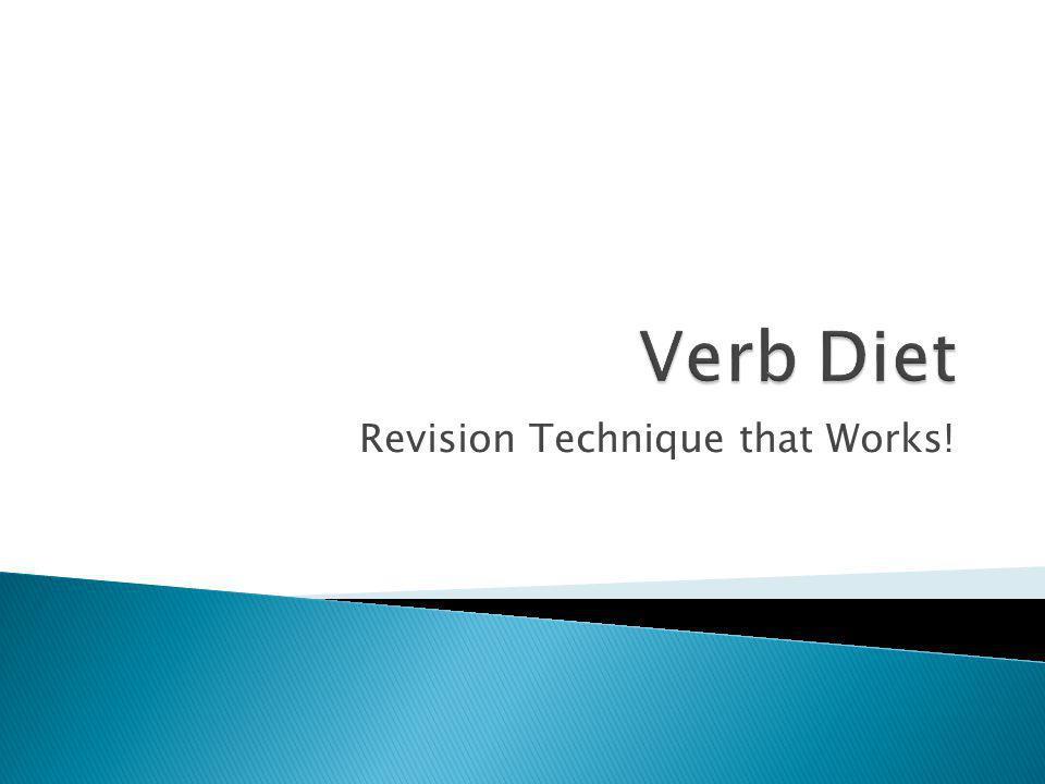 Revision Technique that Works!