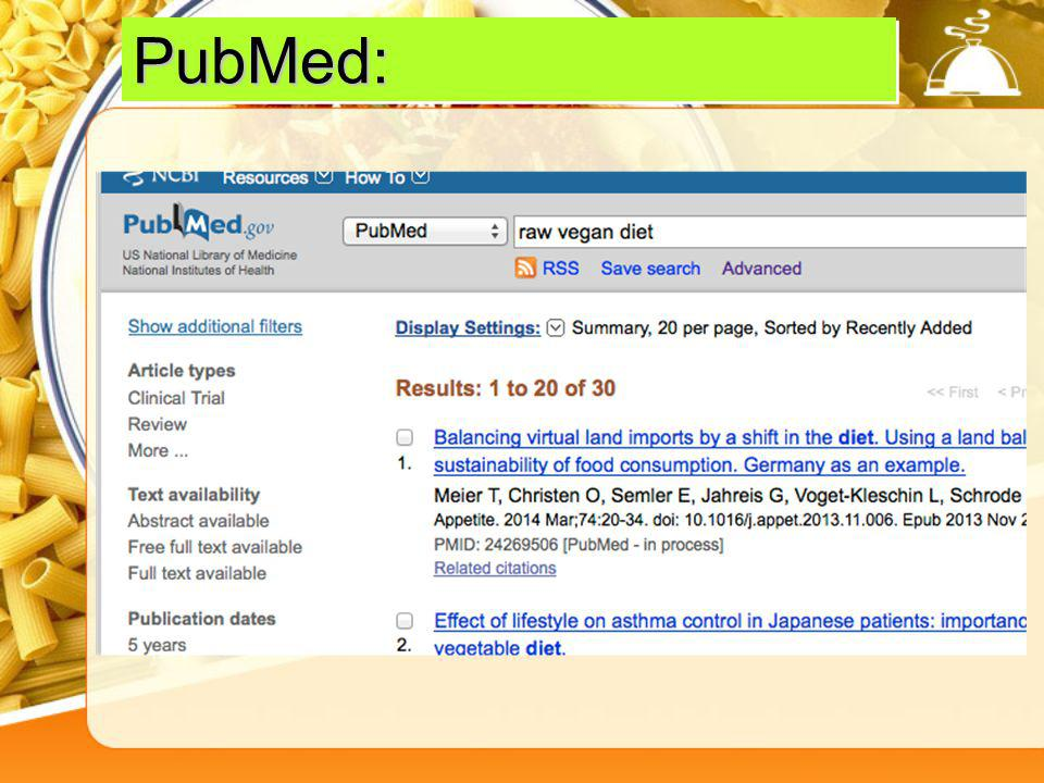 In PubMed,if you find an article that fits what youre looking for, note the related citations off to the right: