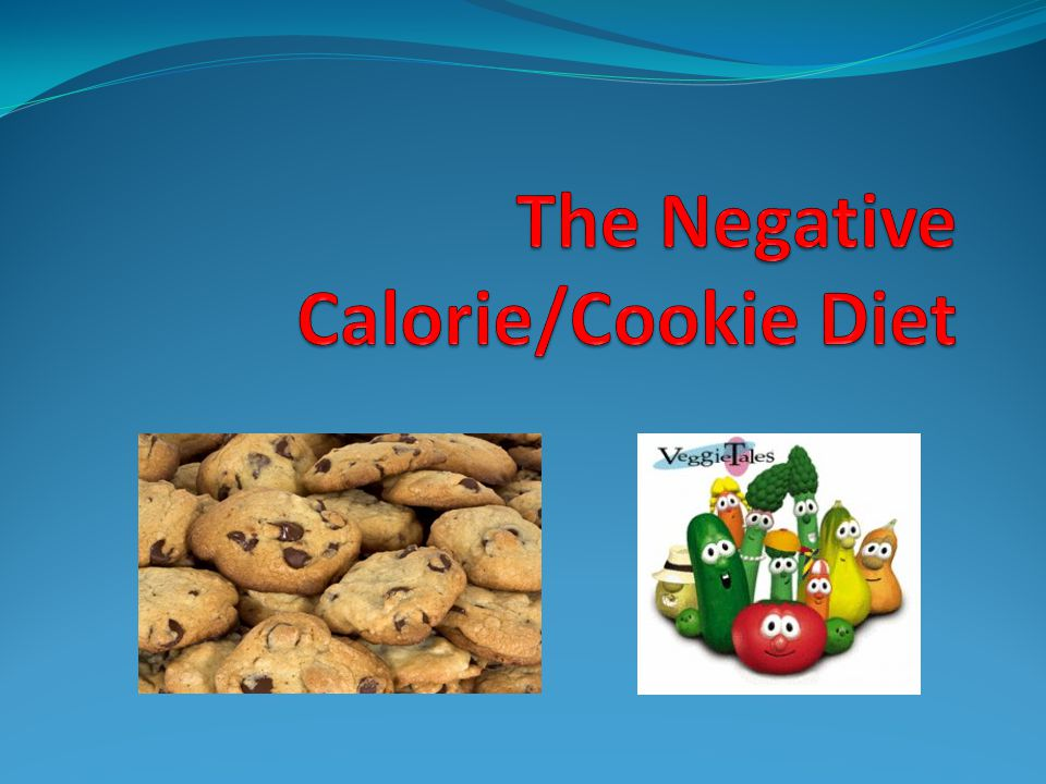The cookie diet Two different cookie diets: The Mr.