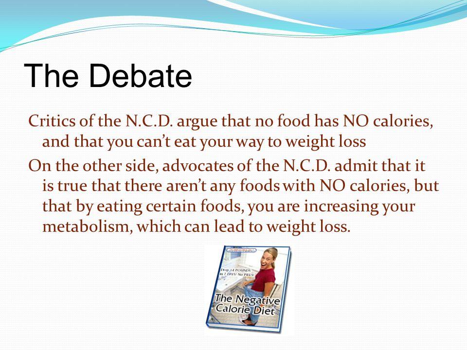 The Debate Critics of the N.C.D.