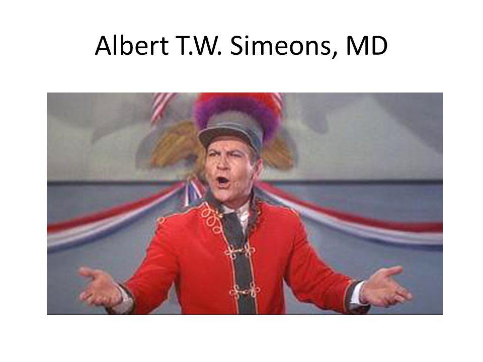 Albert T.W. Simeons, MD