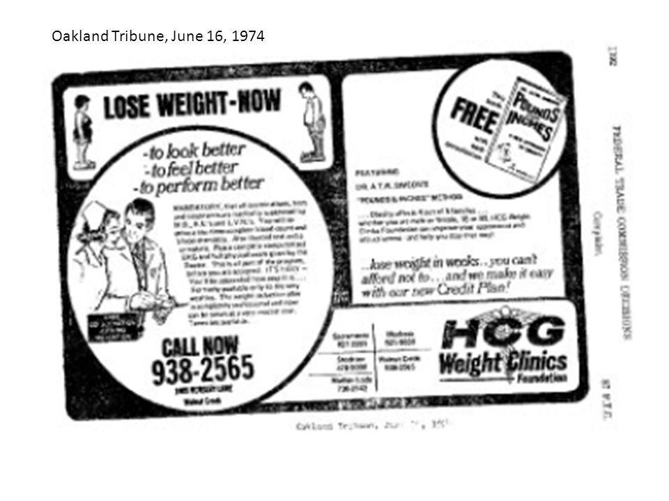 Oakland Tribune, June 16, 1974
