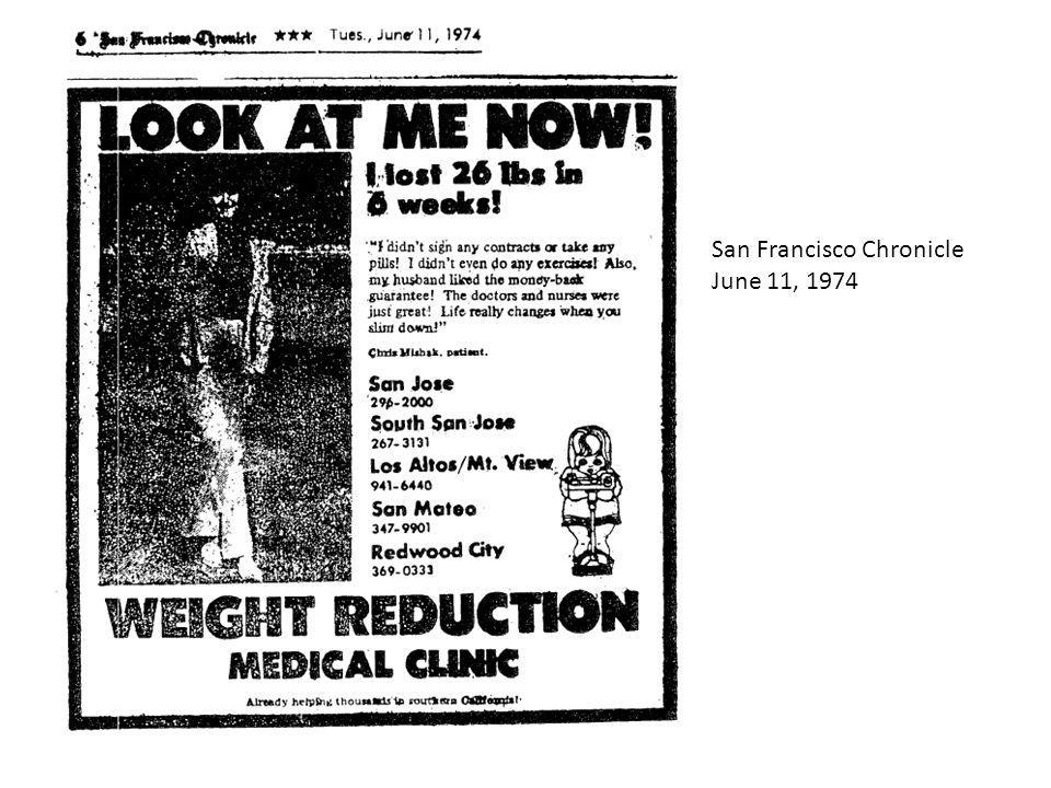 San Francisco Chronicle June 11, 1974