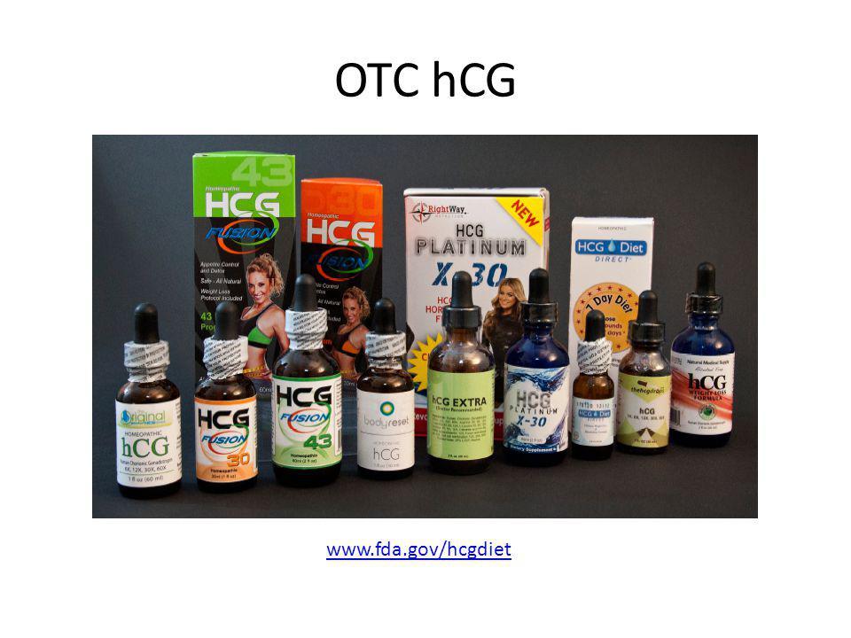 OTC hCG www.fda.gov/hcgdiet